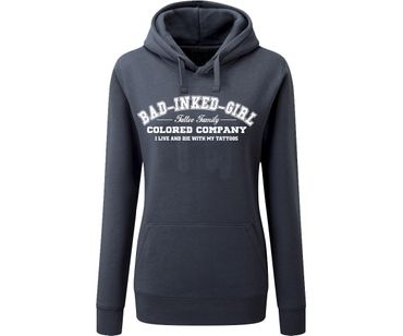 Bad inked girl Tattoo Family Frauen Kapuzenpullover  – Bild 2