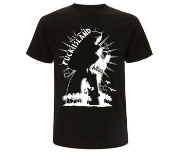 Welcome to fuck island Männer T-Shirt  – Bild 1