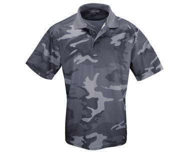 Männer Polo Shirt Quick Dry darkcamo – Bild 1