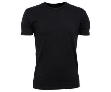 Männer Slimfit Shirt TJ schwarz