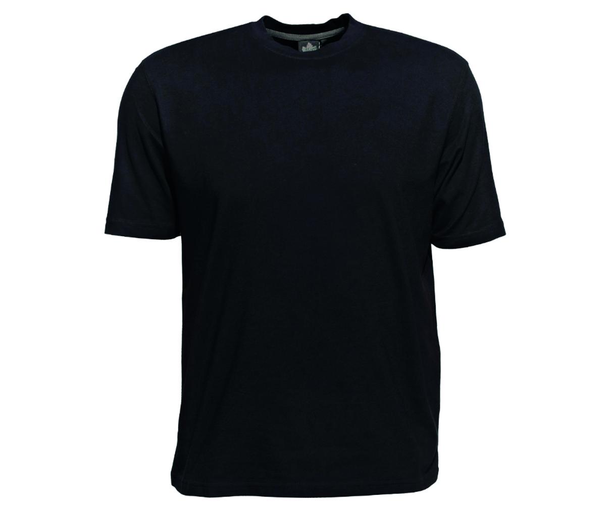 Ahorn Männer T-Shirt schwarz 2 - 10XL – Bild 1