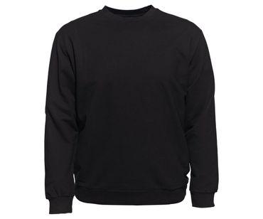 Ahorn Männer Pullover schwarz 2 - 10XL