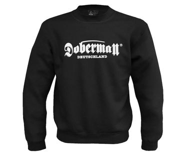 Doberman Männer Pullover High Aggressive