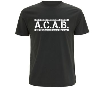 ACAB No cooperation with Police Männer T-Shirt  – Bild 2