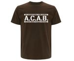 ACAB No cooperation with Police Männer T-Shirt