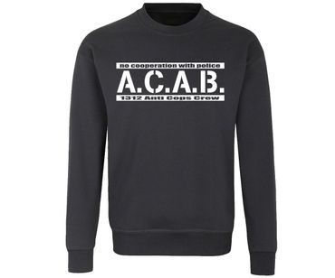 ACAB No cooperation with Police Männer Pullover – Bild 1