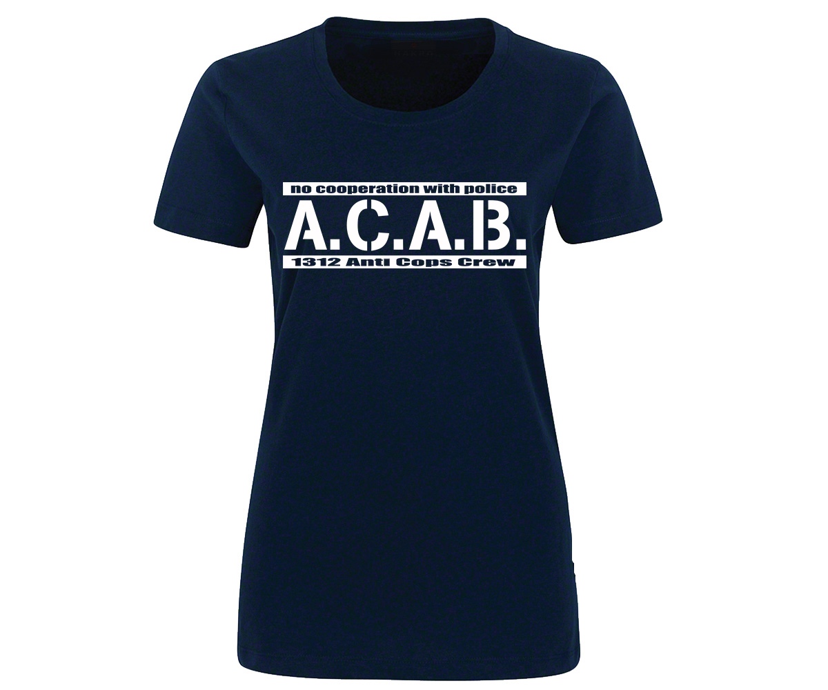 ACAB No cooperation with Police Frauen Shirt – Bild 4