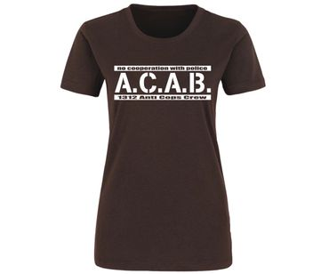 ACAB No cooperation with Police Frauen Shirt – Bild 3