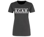 ACAB No cooperation with Police Frauen Shirt 001