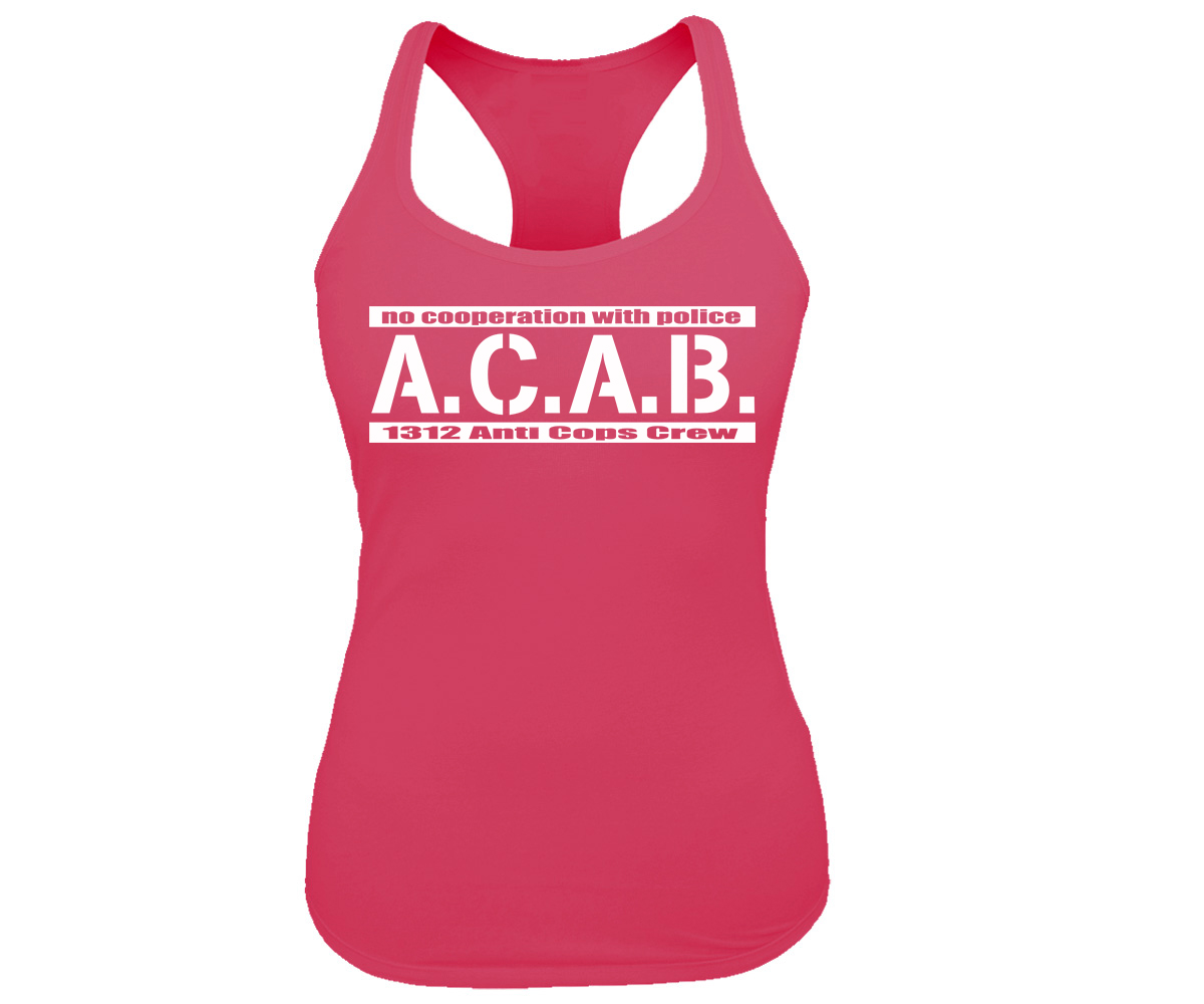 ACAB No cooperation with Police Frauen Tank Top – Bild 2