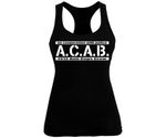 ACAB No cooperation with Police Frauen Tank Top