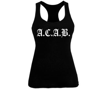ACAB Frauen Tank Top Old School – Bild 1