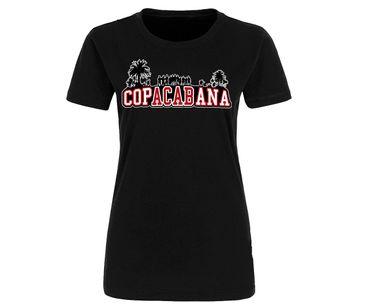 Copacabana rot-weiß Frauen Shirt – Bild 1