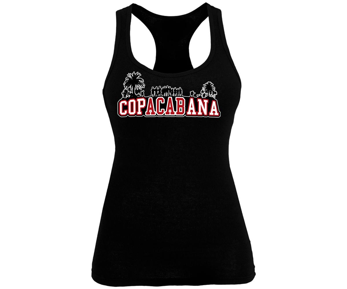 Copacabana rot-weiß Frauen Tank Top – Bild 1