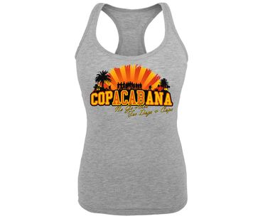 Copacabana Frauen Tank Top No go Area for Dogs and Cops – Bild 1
