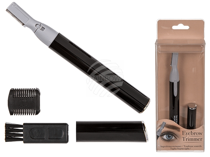 76-3381 Augenbrauentrimmer, ca. 13 cm, für 1 Micro Batterie (AAA) in Verpackung mit Headercard, 2160/PAL