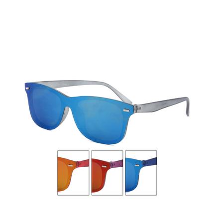 V-1400 Retro Vintage Nerd Blues VIPER Damen und Herren Sonnenbrille Flat Glass sortiert