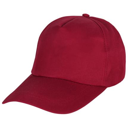CAP-152 Baseballcap bordeaux rot Unisize