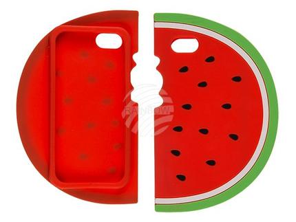 69-0092 Silikon-Hülle, Wassermelone, für Galaxy S7