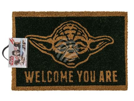 14-2110 Fußmatte, Star Wars - Welcome You Are, ca. 60 x 40 cm, mit Headercard zum Aufhängen, 190/PAL