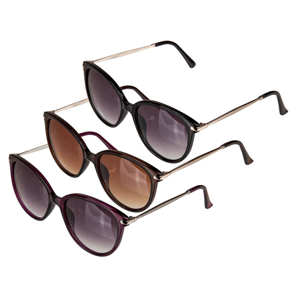 18-7613 Sonnenbrille für Damen, 3-farbig sortiert, P4460, 3600/PAL