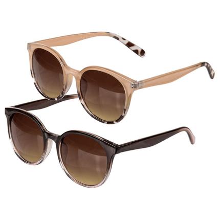 18-7639 Sonnenbrille für Damen, 2-farbig sortiert, LW332, 3600/PAL
