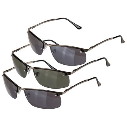 18-7701 Sonnenbrille für Herren, 3-farbig sortiert, 016390, 1800/PAL
