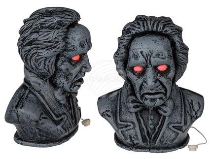 98-2090 Halloween-Figur, Vampir, mit LED, Sound & Bewegung (inkl. Batterien) ca. 34 cm, 72/PAL