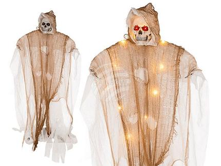 98-2102 Halloween-Figur, Standing Reaper, mit LED (inkl. Batterien) ca. 160 cm, 35/PAL