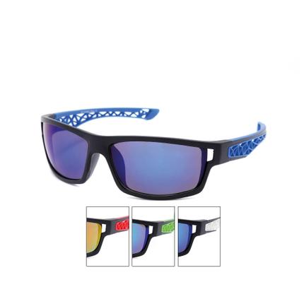 VS-334 VIPER Damen und Herren Sportbrille Sonnenbrille Rippendesign mehrfarbig