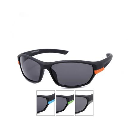 VS-347 VIPER Damen und Herren Sportbrille Sonnenbrille farbige Applikationen am Rahmen schwarz