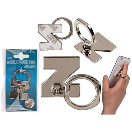 24-1236 Metall-Fingerhalterung fürs Handy, Buchstabe Z, zum Ankleben, 14208/PAL