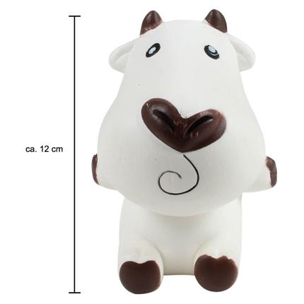 SQ-116 Squishy Squeeze Kuh weiss schwarz