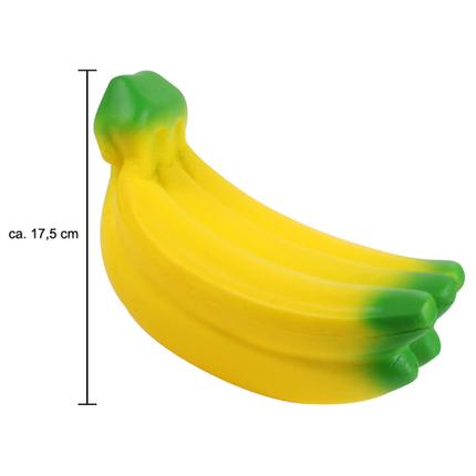 SQ-118 Squishy Squeeze Bananen gelb grün