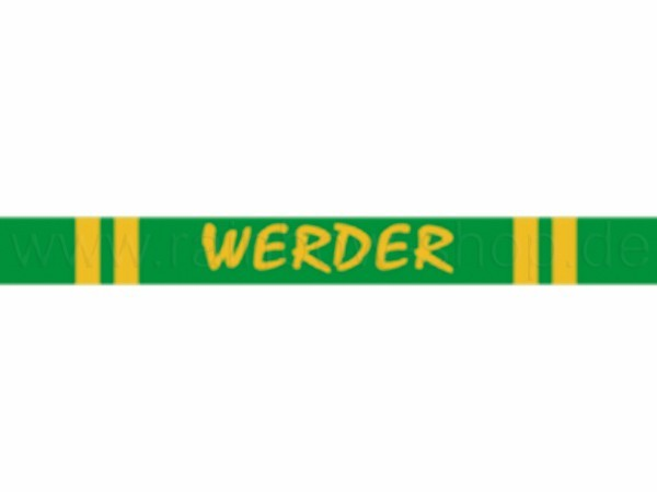 A-s04 Silikon Armband Werder Bremen Fußball