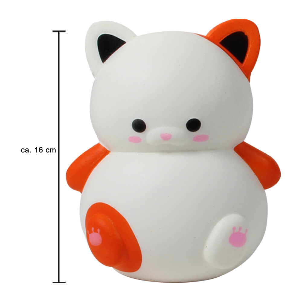 SQ-206 Squishy Squishies Katze weiss ca. 16 cm