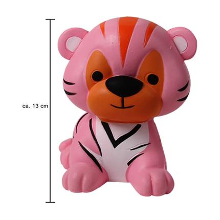 SQ-228 Squishy Squeeze Tiger rosa ca. 13 cm