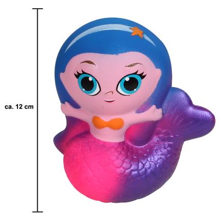 SQ-262 Squishy Squeeze Meerjungfrau rosa ca. 12 cm