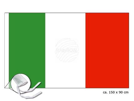 FL-09 Flagge Italien Abmessung (BxH) 150 cm x 90 cm
