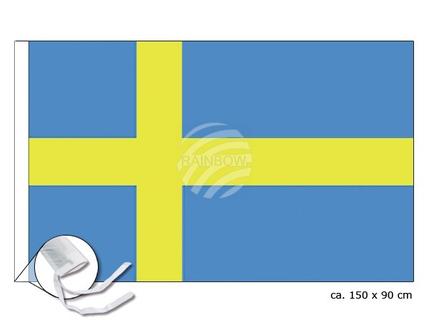 FL-13 Flagge Schweden Abmessung (BxH) 150 cm x 90 cm