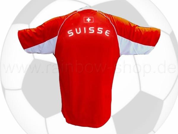 TK-07 Trikot T-Shirt Flagge Schweiz Suisse rot weiß