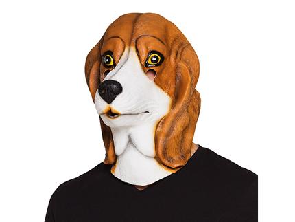 BLD-00147 Latex Maske Beagle