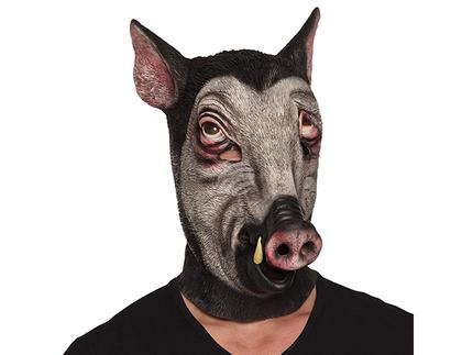 BLD-00158 Latex Gesichtsmaske Wildschwein