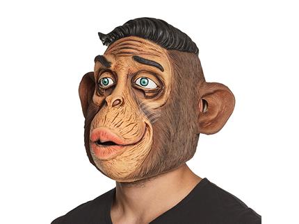 BLD-00164 Latex Kopfmaske Mr Monkey