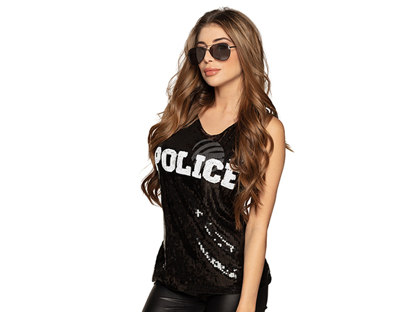 BLD-01450 Top 'POLICE' (M)