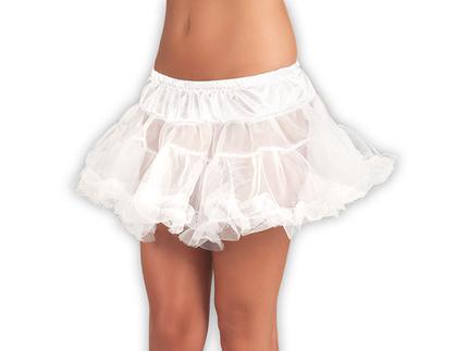 BLD-01781 Petticoat weiss