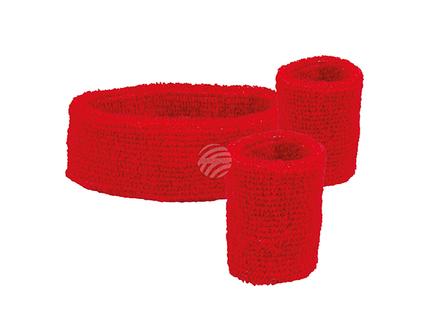 BLD-01892 3 Schweissbänder rot
