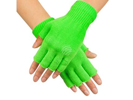 BLD-01904 Fingerlose Handschuhe neongrün