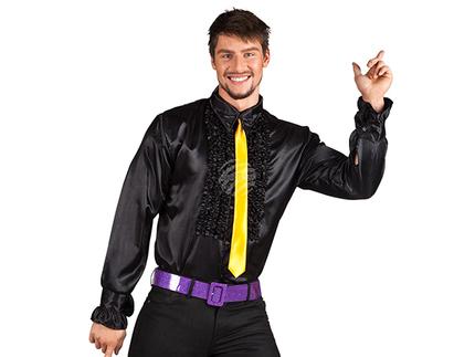 BLD-02103 Party Shirt schwarz (XL, 54-56)