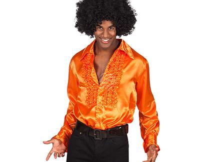 BLD-02116 Party Shirt orange (M, 46-48)